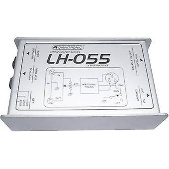 Passive DI box 1-channel Omnitronic LH-055