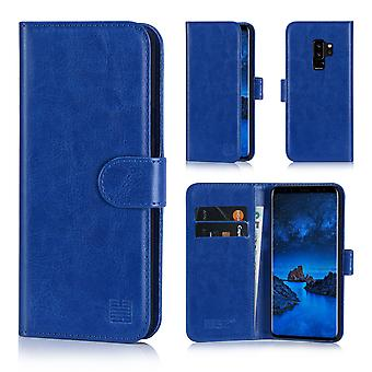 32nd Book wallet case + stylus for Samsung Galaxy S9 Plus - Deep Blue