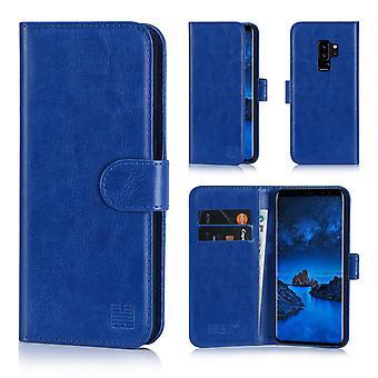 32nd tegnebog bogreol + stylus til Samsung Galaxy S9 Plus - dyb blå