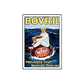 Imã de geladeira Bovril ' afundando sentimento '
