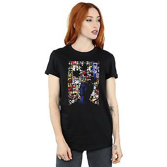 David Bowie vrouw vanavond Album Cover Boyfriend Fit T-Shirt