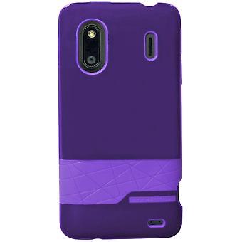 Body Glove - Diamond Snap-on Case for HTC EVO Design 4G, HERO S  - Purple