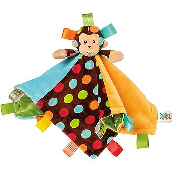 Taggies Dazzle prickar Monkey tecken Blanket