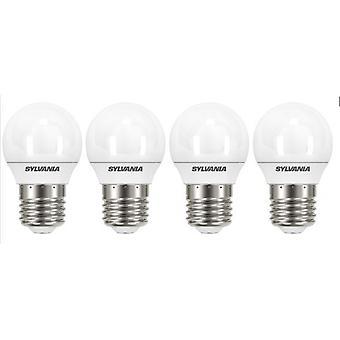 4 x Sylvania ToLEDo Ball E27 3.2W Homelight LED 250lm [Energy Class A+]