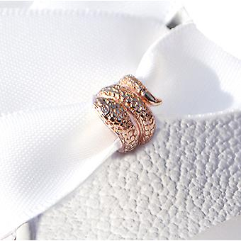 Rose Gold Snake Shoe Charm