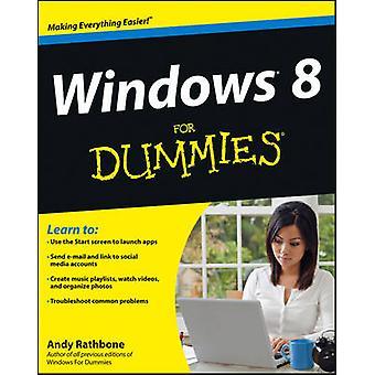 Windows 8 für Dummies von Andy Rathbone - 9781118134610 Buch