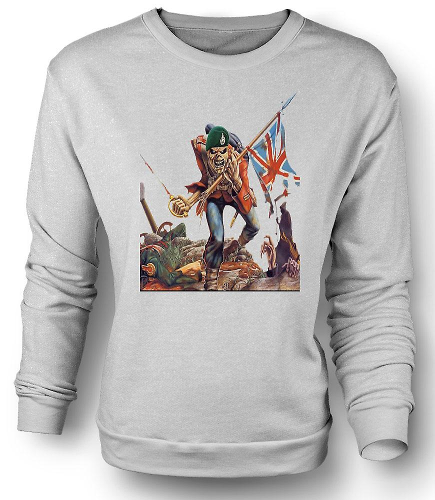 Mens Sweatshirt The Trooper - Royal Marine Eddie