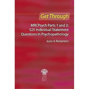 Obtén MRCPsych - partes 1 y 2-525 declaración Individual hay preguntas