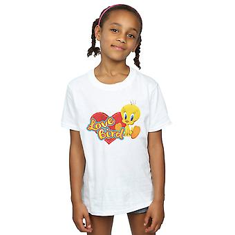 Looney Tunes Girls Tweety Pie Valentine's Day Love Bird T-Shirt