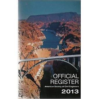 Offical Register 2013