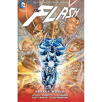 Flash TP Vol 7 mundo salvaje
