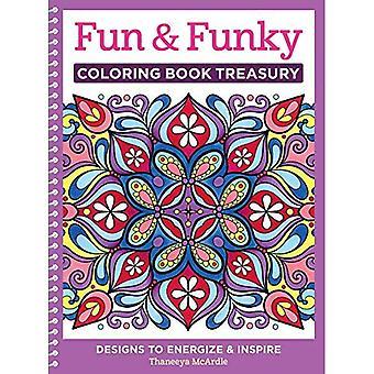 Leuk & Funky Coloring boek Schatkist: Ontwerpen te Energize en inspireren (kleuren-collectie)