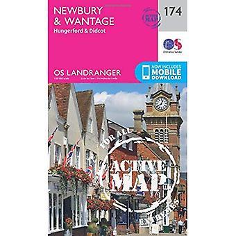Newbury & Wantage, Hungerford & Didcot (OS Landranger Map)