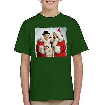 TV Times Minder Cast Father Christmas 1989 Kid's T-Shirt