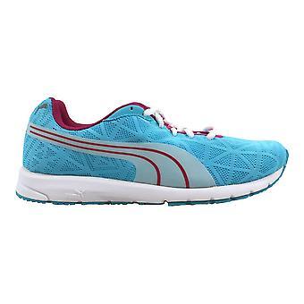 finest selection d9ef2 84607 Puma Narita V2 Jr blå Atoll vit-rödbetor 187254 09-skolan
