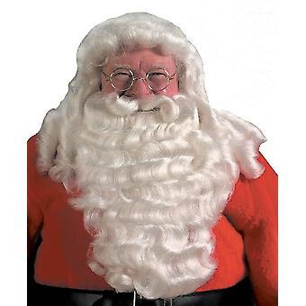Santa Perücke und Bart