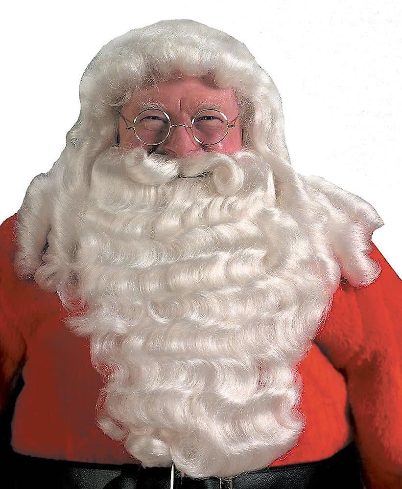 Santa parykk og skjegg