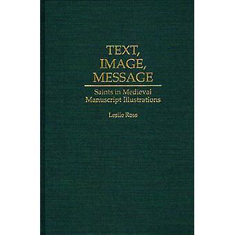Testo immagine messaggio Santi nelle illustrazioni del manoscritto medievale di Ross & Leslie