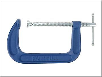 Faithfull G Clamp Medium-Duty 152mm (6in)