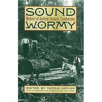 Sound Wormy Memoir of Andrew Gennett Lumberman by Gennett & Andrew