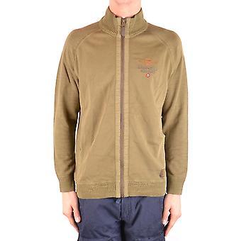Aeronautica Militare grüne Baumwoll Sweatshirt