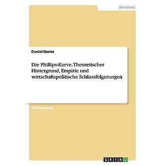 Die PhillipsKurve. Theoretischer Hintergrund Empirie und wirtschaftspolitische Schlussfolgerungen by Hasler & Daniel