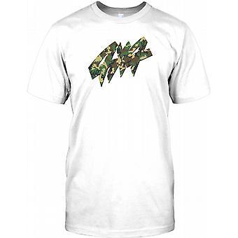4x4 Camo Design - Offroad -  Mens T Shirt