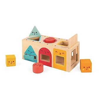 Janod Geometric Shapes Box