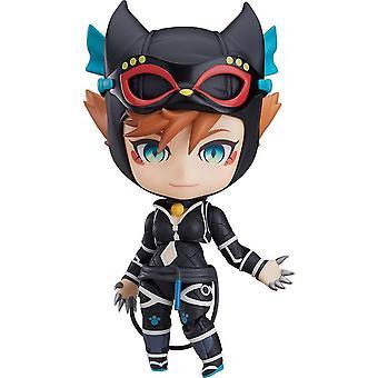 Batman Nendoroid Catwoman Ninja Edition Actionfigur bedruckt, aus 100% Kunststoff, in Geschenkverpackung.