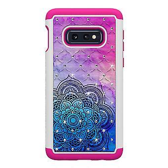 Samsung Galaxy S10e TPU Shell armadura Extra Durable-Henna flor