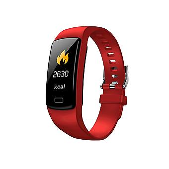 Y9 Activity bracelet with 0.96 inches color screen-red