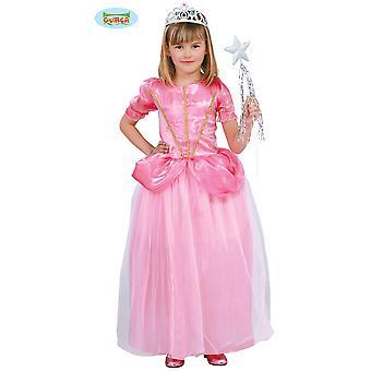 Trajes infantiles Vestido de princesa rosa para niñas