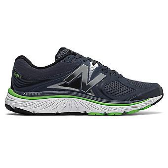 New Balance 940v3 mens D breedte (standaard) Road Running Shoes W/ondersteuning voor overpronatie blauw/groen