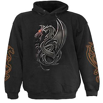 Spiral Direct Gothic DRAGON SLAYER - Hoody Black|Dragon|Blade