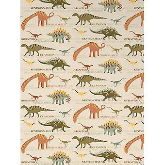 Dinosaurier Wallpaper natürliche und grüne AS Schöpfung 93633-10