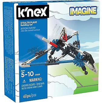 K'nex K'NEX Starter Vehicle Building Set (Stealth Plane)