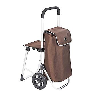 Shopping trolley with seat (LF520)