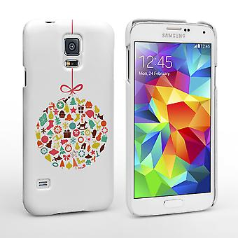 Caseflex Samsung Galaxy S5 Christmas Bauble Decorations Hard Case