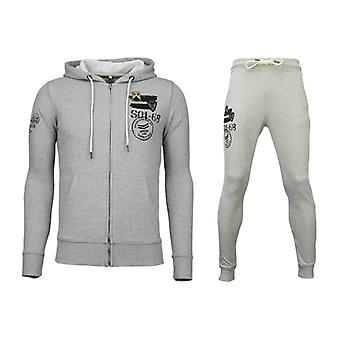 Tracksuits Basic-Army Joggingpak-Grey