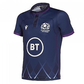 2019-2020 Scotland 7s Home Replica Rugby Shirt (Kids)