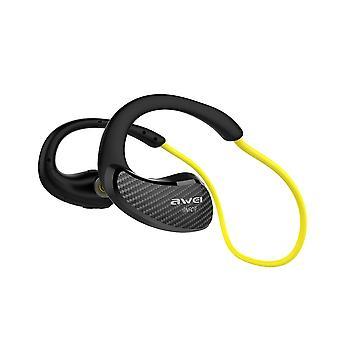 Awei a881bl nfc wireless earphones yellow