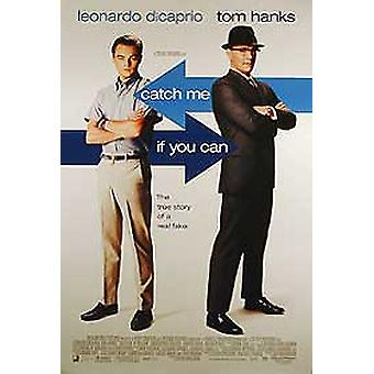 Catch Me If You Can (Double Sided International) Original Cinema Poster