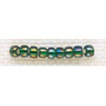 Mill Hill Glass Beads Size 8 0 3Mm 6.0 Grams Pkg Golden Emerald Gbd8 18831