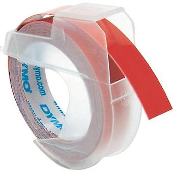 Labelling tape DYMO S0898150 Tape colour: Red Font colour:White 9 mm 3 m
