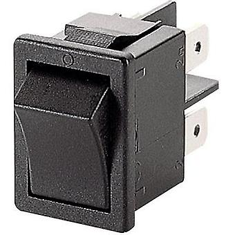 Toggle switch 250 Vac 10 A 2 x Off/On Marquardt 1858.4202 IP40 latch 1 pc(s)