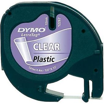 Etiquetado color de DYMO 16951 cinta cinta: fuente transparente color: negro 12 mm 4 m