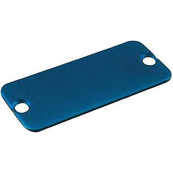 End cover Aluminium Blue Hammond Electronics 1455RALBU-10 1 pc(s)