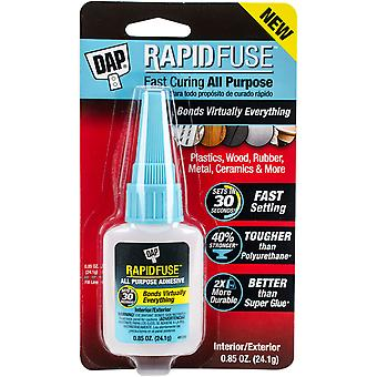 DAP Rapid Fuse All Purpose Glue-.85oz Clear RF001558