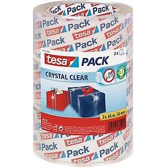 Packaging tape tesa tesapack® Clear (L x W) 66 m x 50 mm