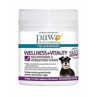 PAW Wellness and Vitality Chews 300g